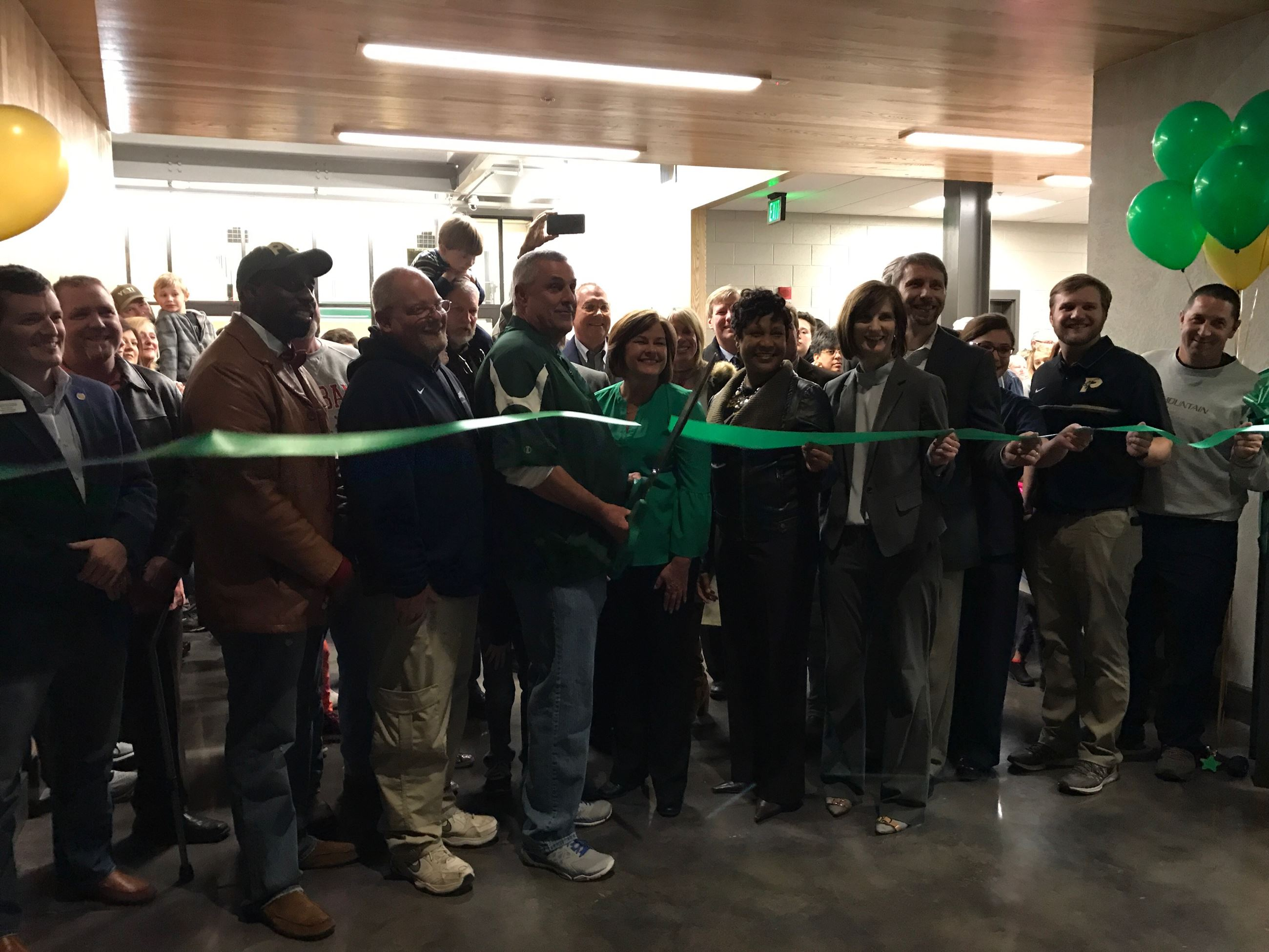 Ribbon Cutting 1